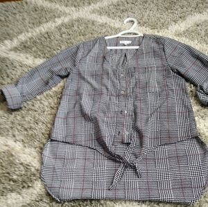 Stella Tweed High-low Button down Size S